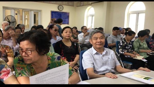 Giải tỏa vướng mắc pháp lý cho bà con phường Ngọc Khánh