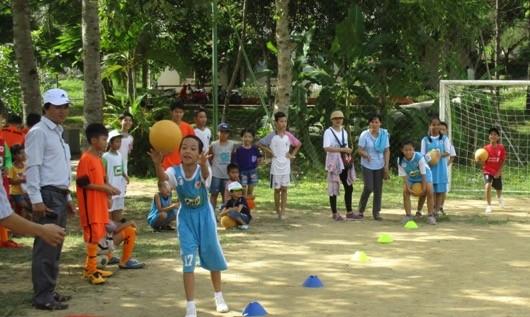 Ngày hội kỹ năng sống cho trẻ có hoàn cảnh đặc biệt