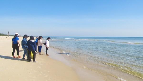 Nữ sinh viên tử vong tại bãi biển Cửa Việt