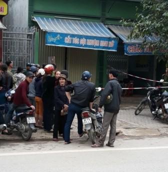Thanh Hóa; vợ chồng tử vong bất thường trong quán cắt tóc