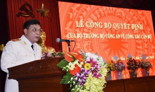 Điều động tướng Nguyễn Hải Trung làm Giám đốc công an Thanh Hóa