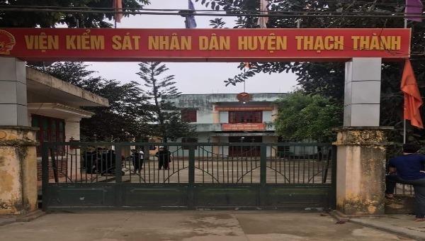 Thanh Hóa: Viện phó viện kiểm sát huyện tử vong trong tư thế treo cổ tại phòng làm việc - Ảnh 1