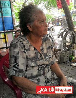 Bà Trần Thị Minh Nguyệt, người đóng vai tình nhân thiếu tá nguỵ trong trận đánh rung chuyển Sài Gòn
