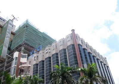 VCCI đang xây dựng trụ sở trên lô đất phía sau tòa nhà hiện tại.